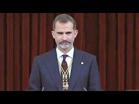 Felipe VI (Rey de España), discurso en Solemne Sesión de Apertura de la ...
