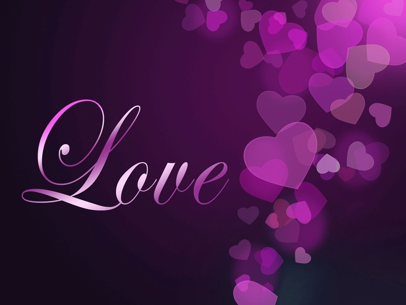 If You Love Purple Purple Heart Love You 1600 x 1200