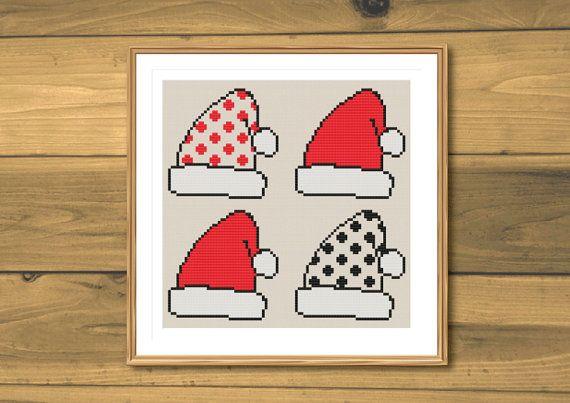 Cross stitch pattern christmas cross stitch by SpruceXstitch SpruceNatural range #crossstitch #moderncrossstitch