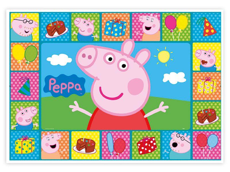 Mini Painel EVA George Pig Peppa Pig Piffer -