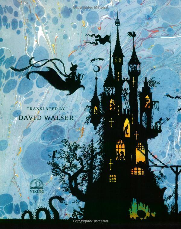 The Fairy Tales Jan Pienkowski Art Silhouette Art