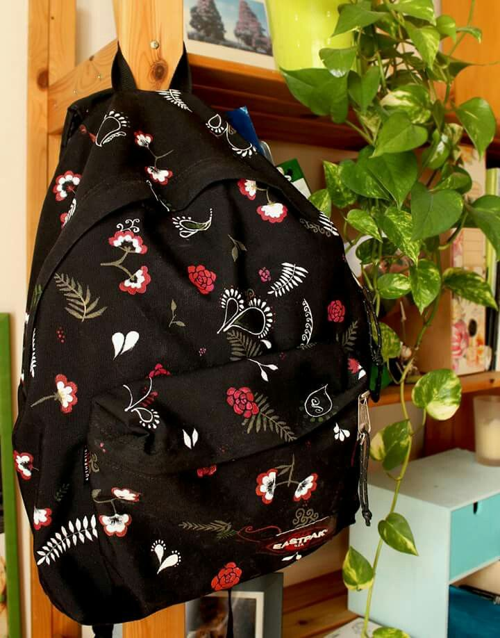 DIY backpack  #backpack #diy #decoration #colors #flowers #ethnic #homemade #pattern