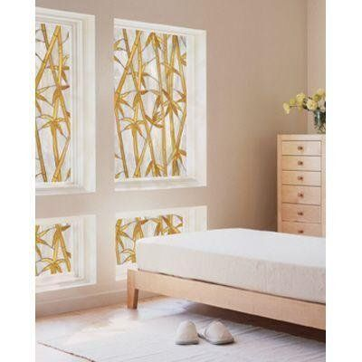 Amazon.com: Bamboo Decorative Window Film: Furniture & Decor