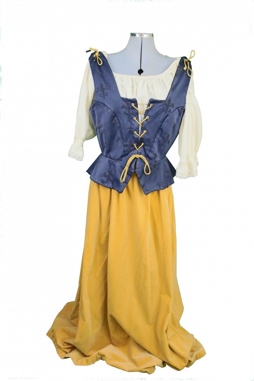 Medieval Yellow Dress