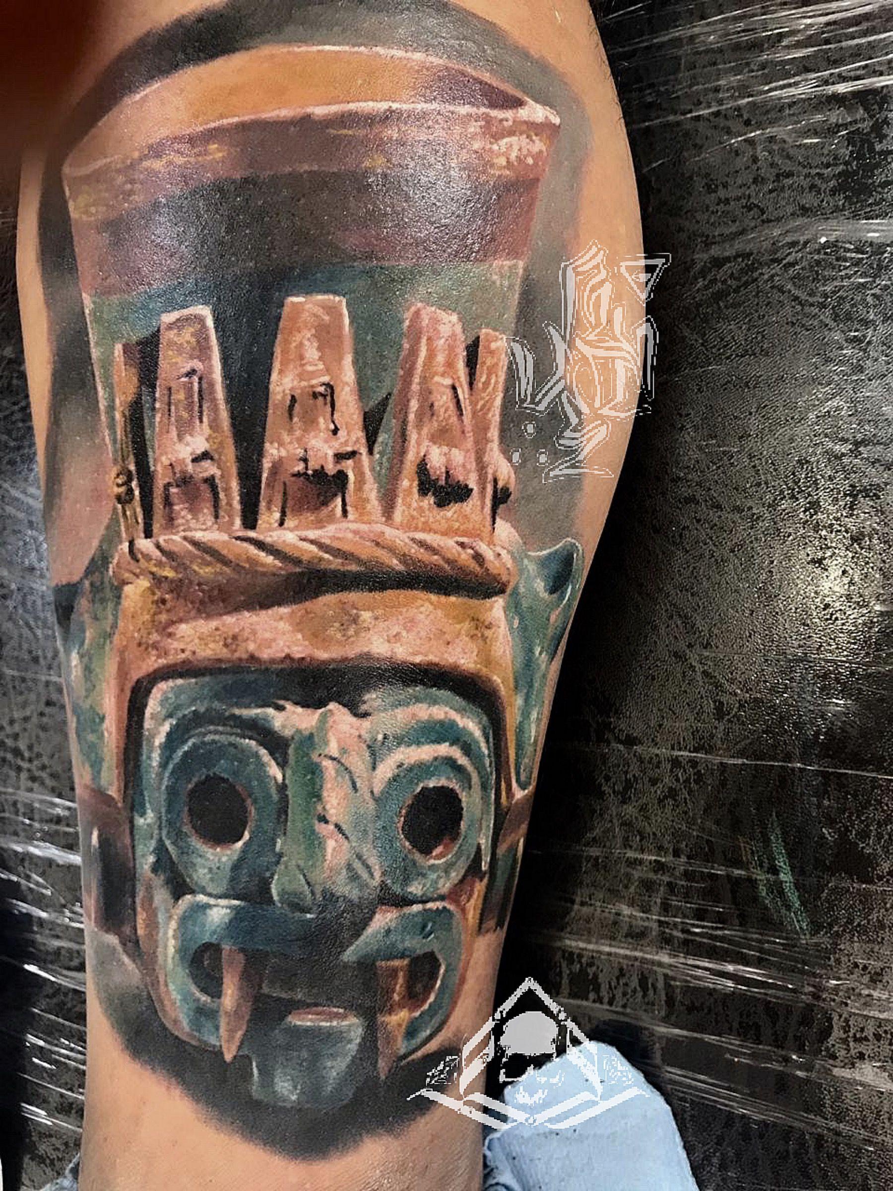 24 Tatuajes de tlaloc