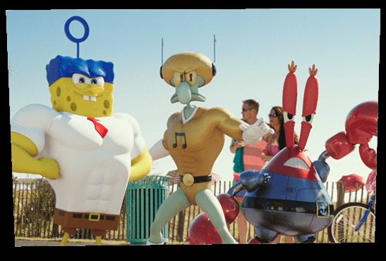 The SpongeBob Movie Sponge Out of Water Spongebob
