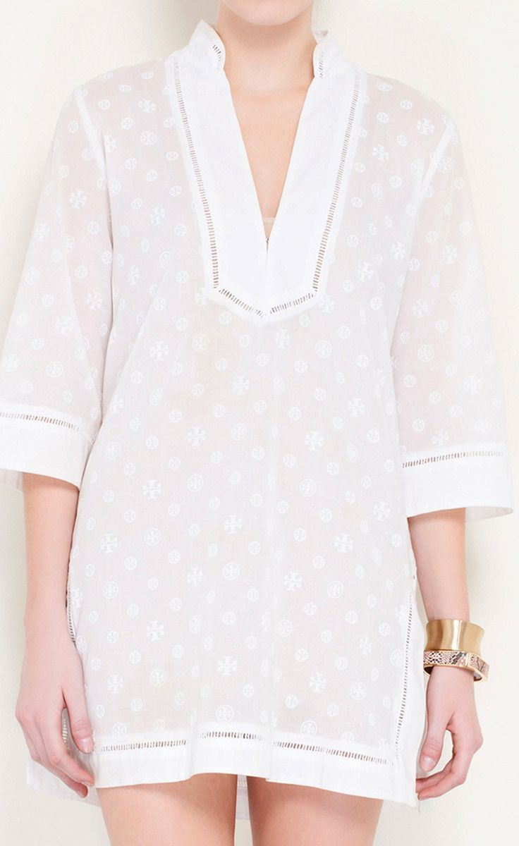 Tory Burch White Summer Dress