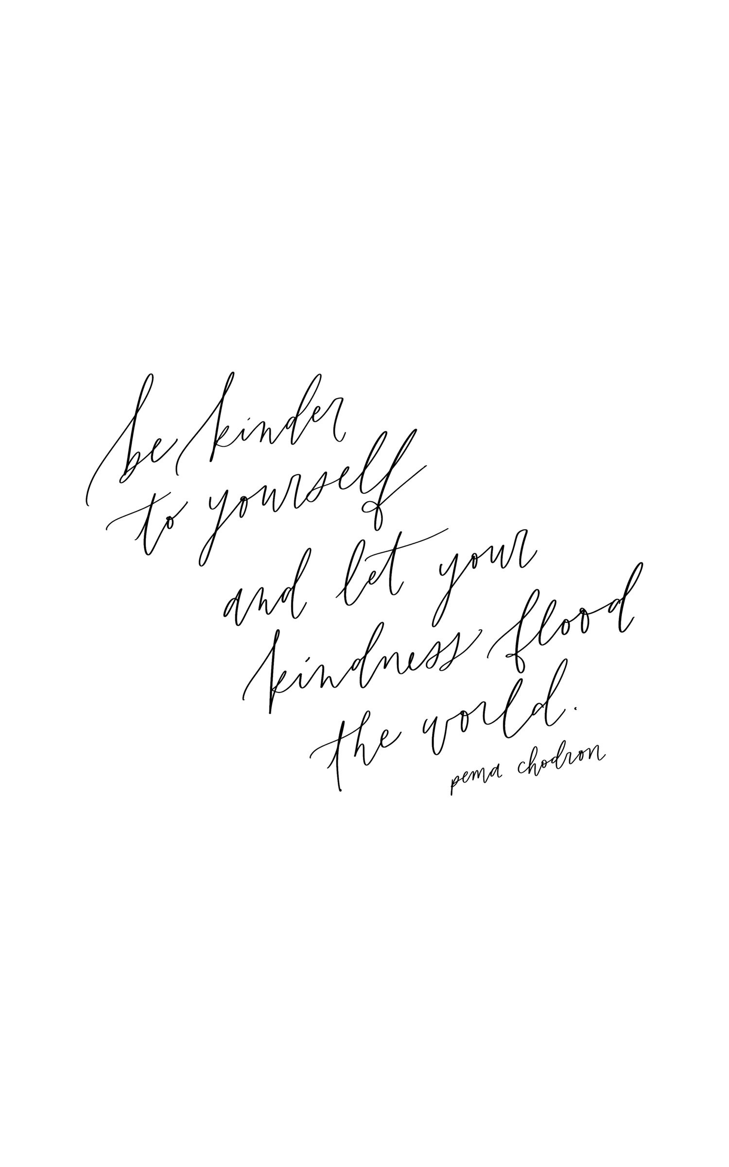 Pema Chodron Quotes Mesmerizing Pema Chodron Quote Calligraphy Quote Handlettering  Quotes  . Design Decoration