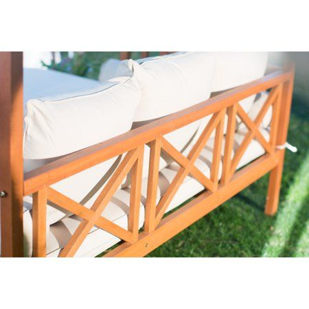 Patio & Garden | Outdoor daybed, Double chaise lounge ... on Belham Living Brighton Outdoor Daybed id=81881