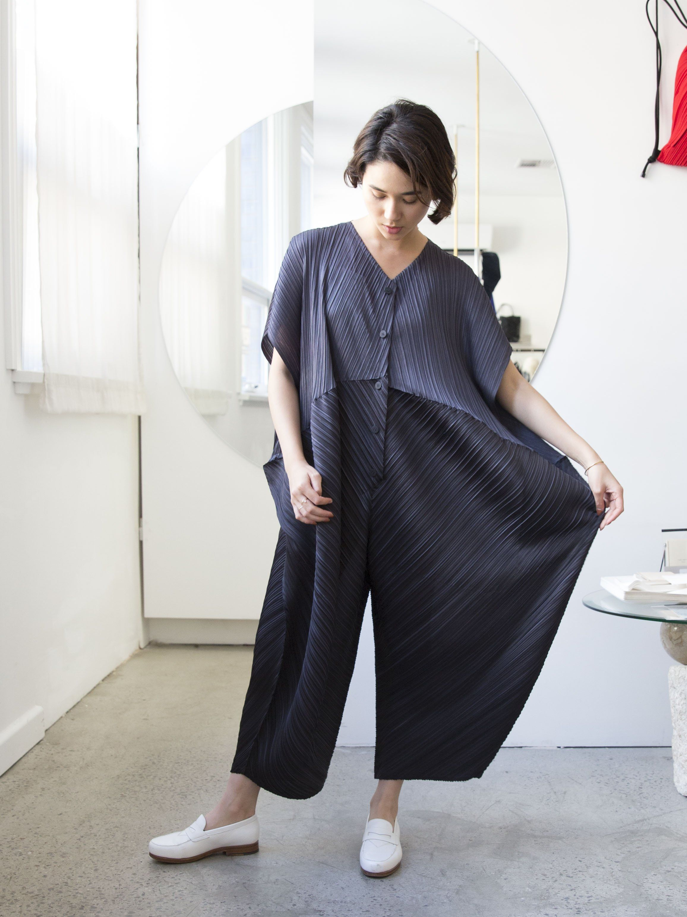 1e040bd80b99 PLEATS PLEASE ISSEY MIYAKE Mirror Jumpsuit