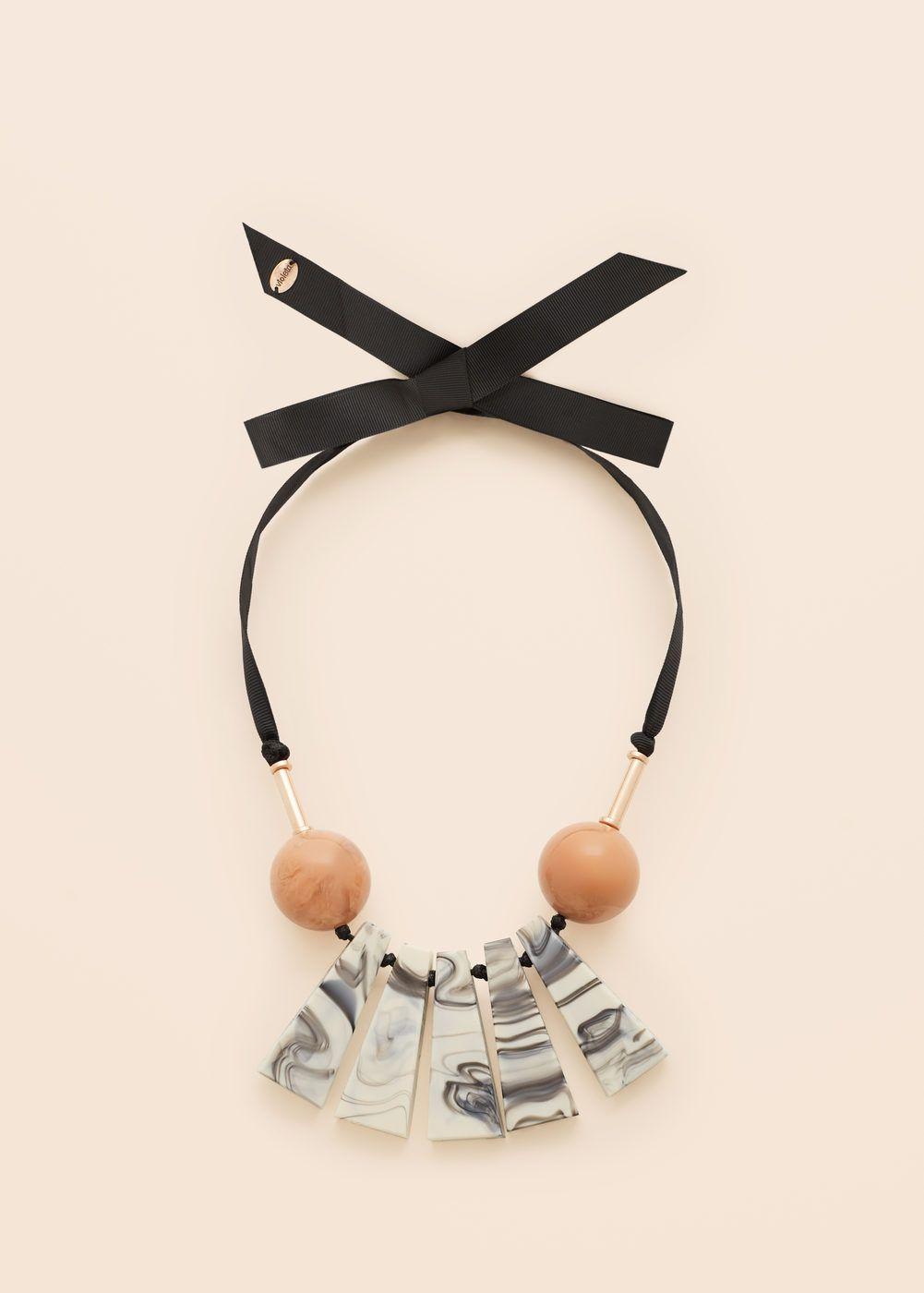 71c12dc2965c Collar abalorios combinados - Tallas grandes