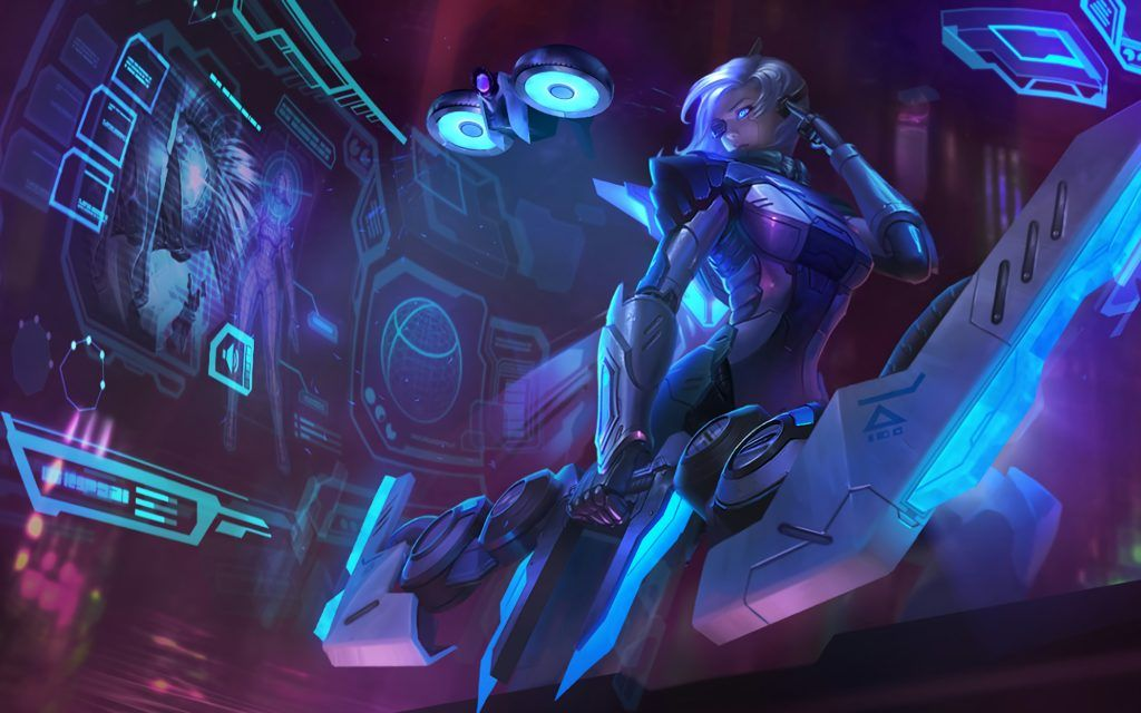 Project Ashe Login Theme Wallpaper League Of Legends League Of Legends Items Lol League Of Legends