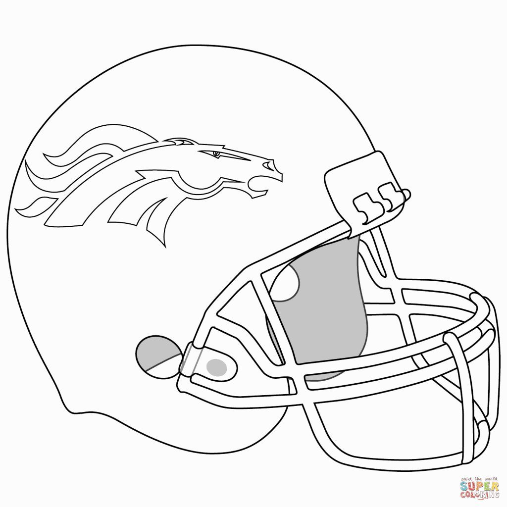 denver broncos coloring pages  football coloring pages