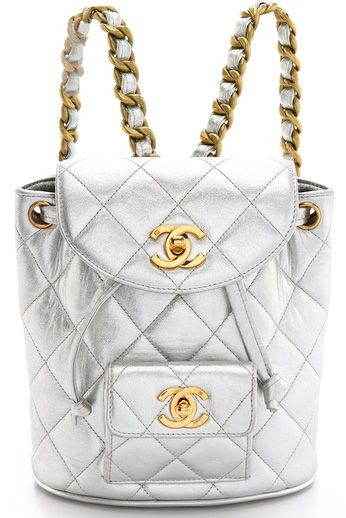 Our Celebrity Style Obsession Style And Fashion Chanel Backpack On Celebrity Style Guide Vintage Chanel Chanel Backpack Chanel