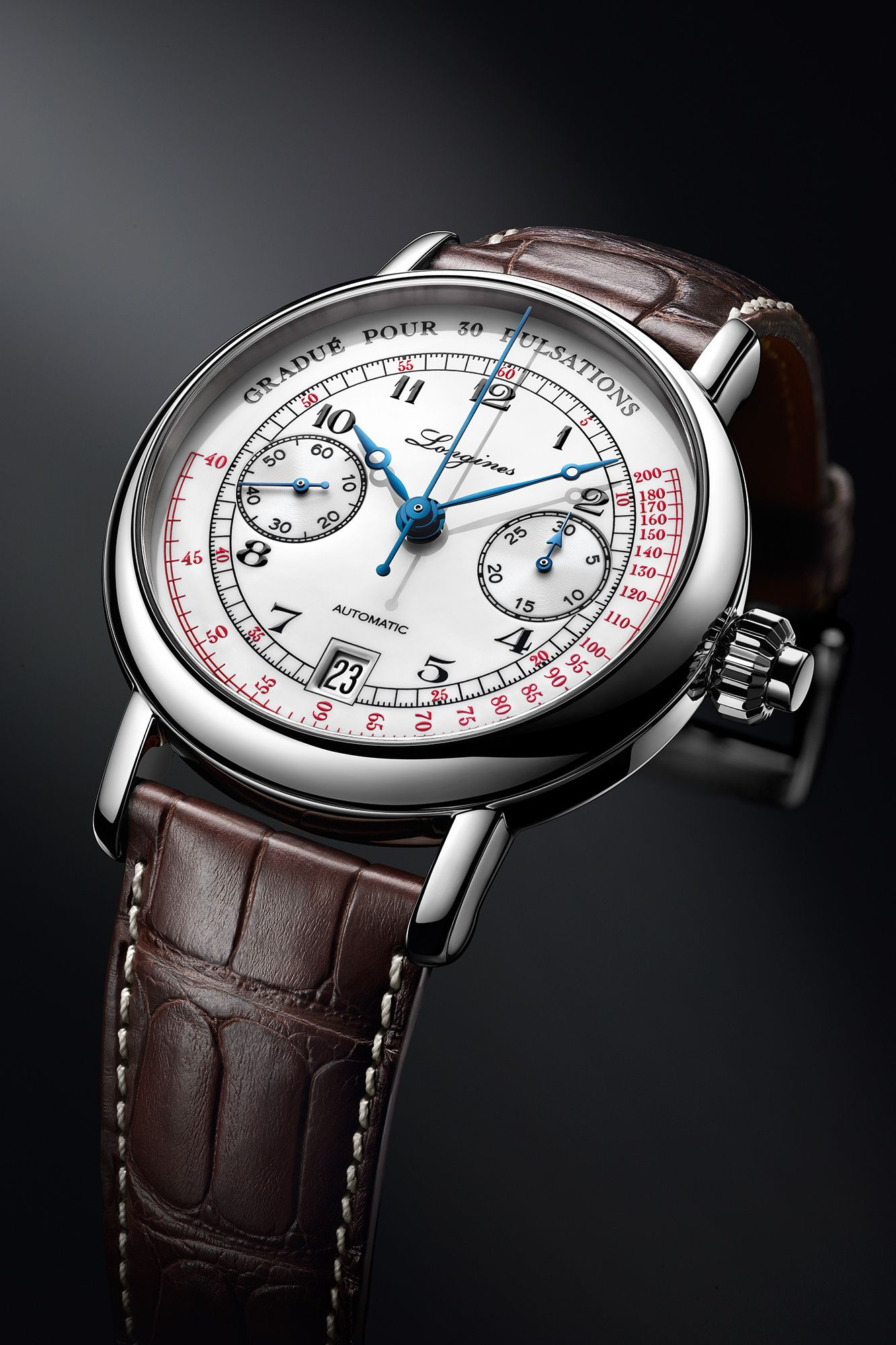 The Longines Pulsometer Chronograph d63334fbdd4