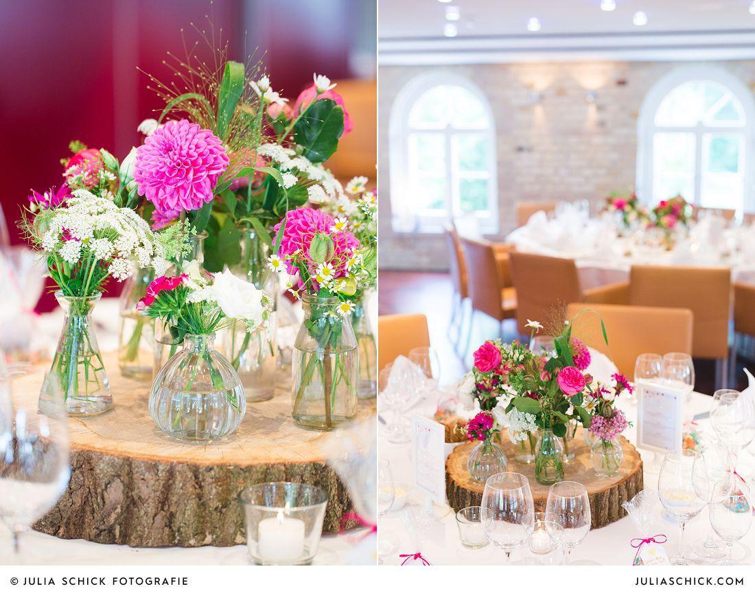 Blumendekoration und hochzeitsdekoration alte brennerei - Tischdeko brautpaar ...