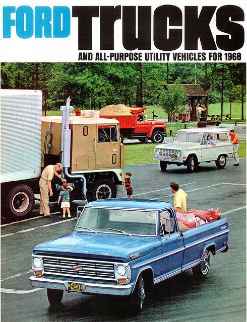 1968 Ford Trucks Usa Ford Trucks Trucks Classic Trucks