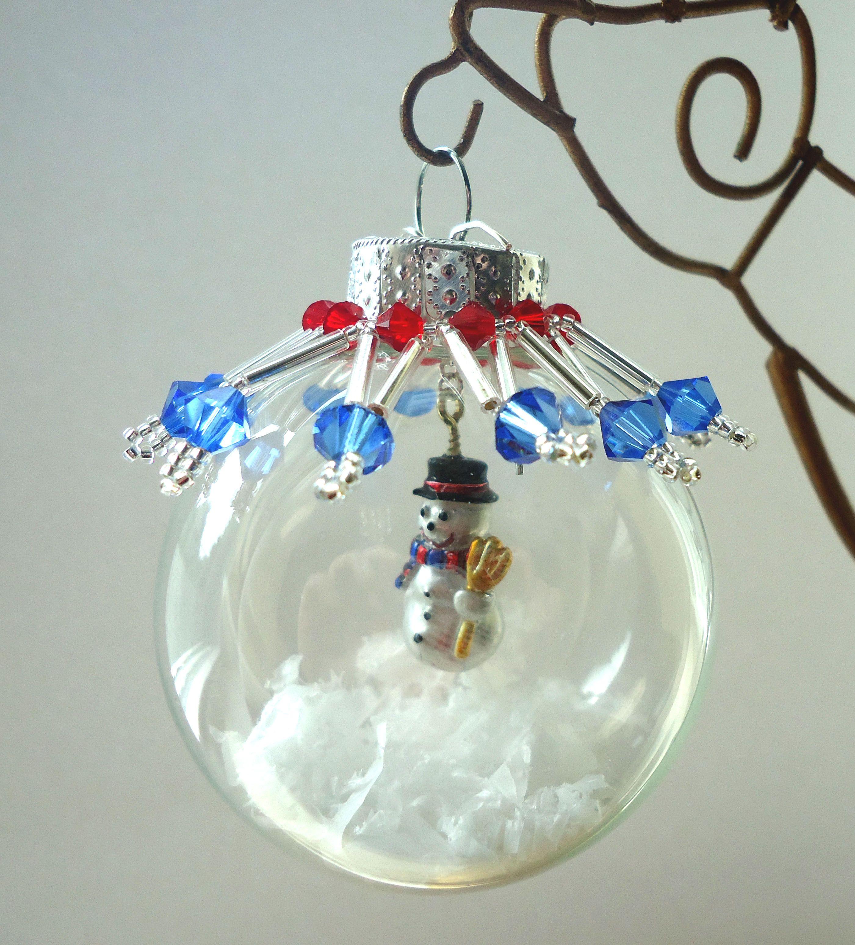 Snowman ornament Diy christmas ornaments, Christmas