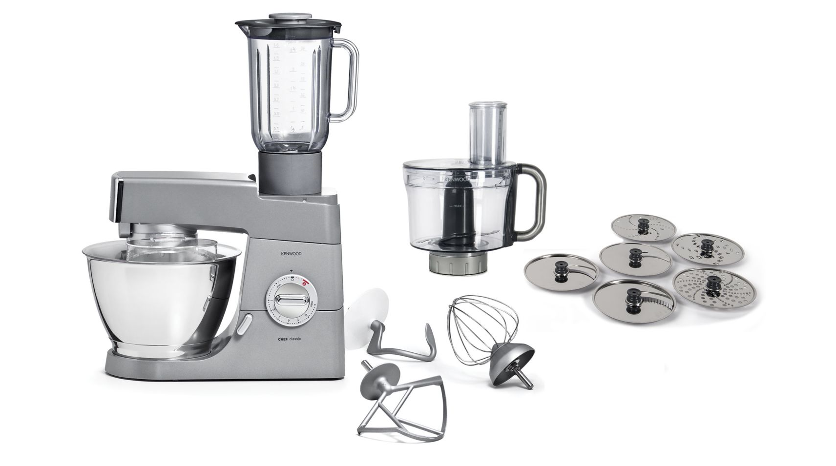 Comparatif Robot Patissier Kenwood Et Kitchenaid Robot Patissier Kenwood Km347pl Chef Bol Multifonction Kah647pl