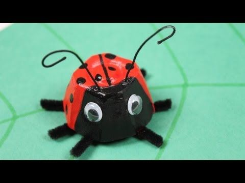 Bug Eyed insectes Craft Boutons 1ST CLASSE POST Abeille Coccinelle Chenille fleur