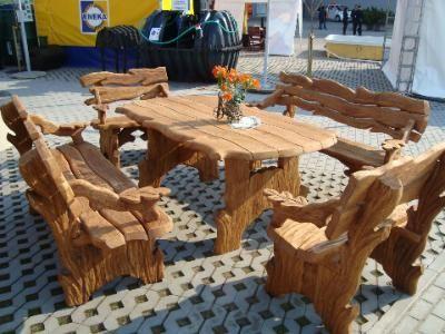 Gartenmöbel holz rustikal  gartenmöbel holz rustikal - Google-Suche | Wohnideen | Pinterest ...