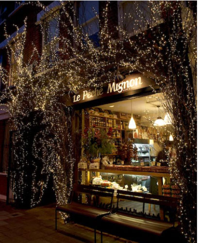Le Péché Mignon is an independent French café and fine food store nestled in a surprising location on Highbury's Ronalds Road within walking distance of Highbury Fields and Arsenal's Emirates Stadium.