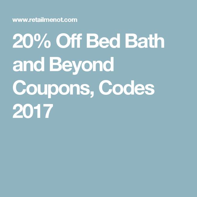 Retailmenot Bed Bath Beyond 20 Off