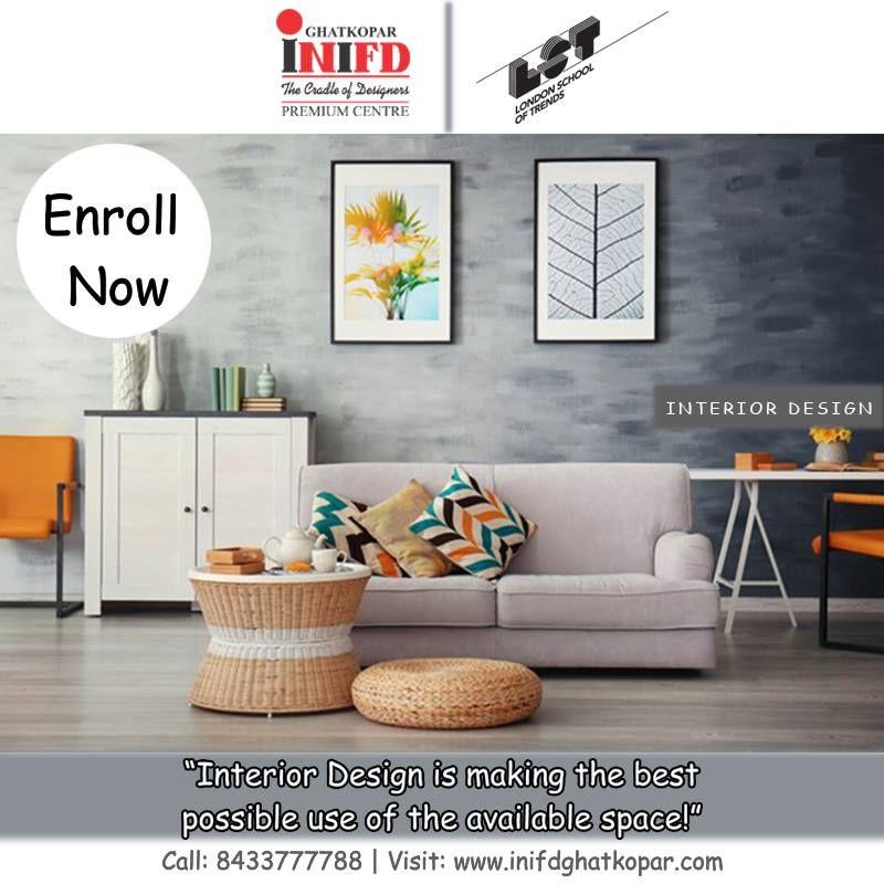 Inifd Ghatkopar Is One Of The Best And Leading Fashion Designing Interior Designing Institut Feng Shui Living Room Modern Sofa Living Room Modern Living Room