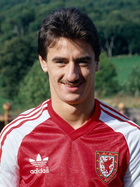 Image result for Ian Rush wales 1982