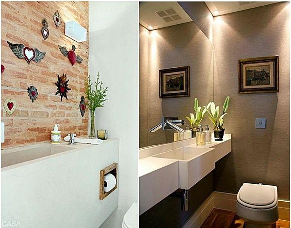20 lavabos pequenos e estreitos Lavabo e Banheiros - lavabos pequeos
