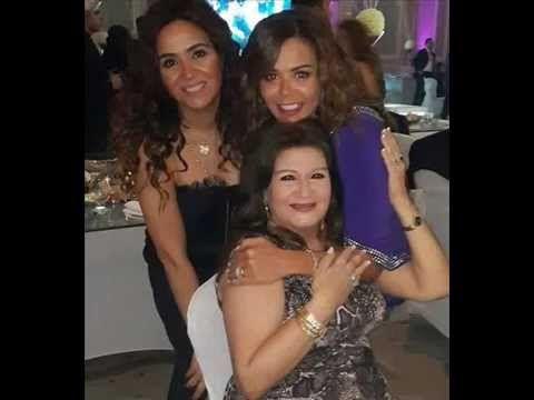 شاهد لاول مره الفنانة ميمي جمال مع أبنتيها التؤأم Actresses Actors