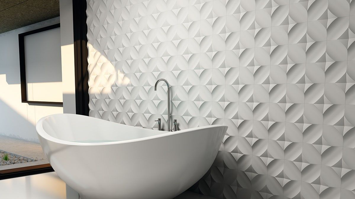 Woodbridge 3d Small Bathroom Tiles Vintage Bathroom Tile Tile Bathroom
