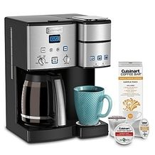 Cuisinart Coffee Center 12 Cup Coffee Maker And Single Serve Brewer From Bed Bath Bey Single Coffee Maker Cuisinart Coffee Maker Single Serve Coffee Makers