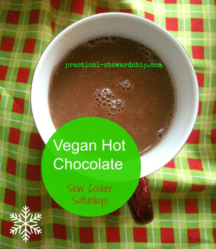 Creamy Crock-Pot Hot Chocolate, Dairy-free, Vegan | Recipe | Crock ...