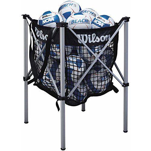 Wilson Beach Ball Cart Volleyball Equipment Volleyball Training Equipment Beach Volleyball