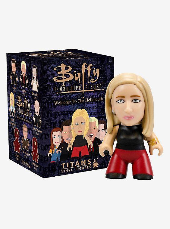"Titans BUFFY THE VAMPIRE SLAYER Mini Series FAITH 3/"" Vinyl Action Figure"
