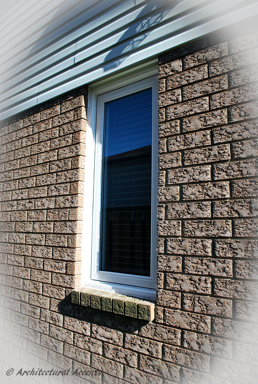 Brick Molding Around Windows Zef Jam