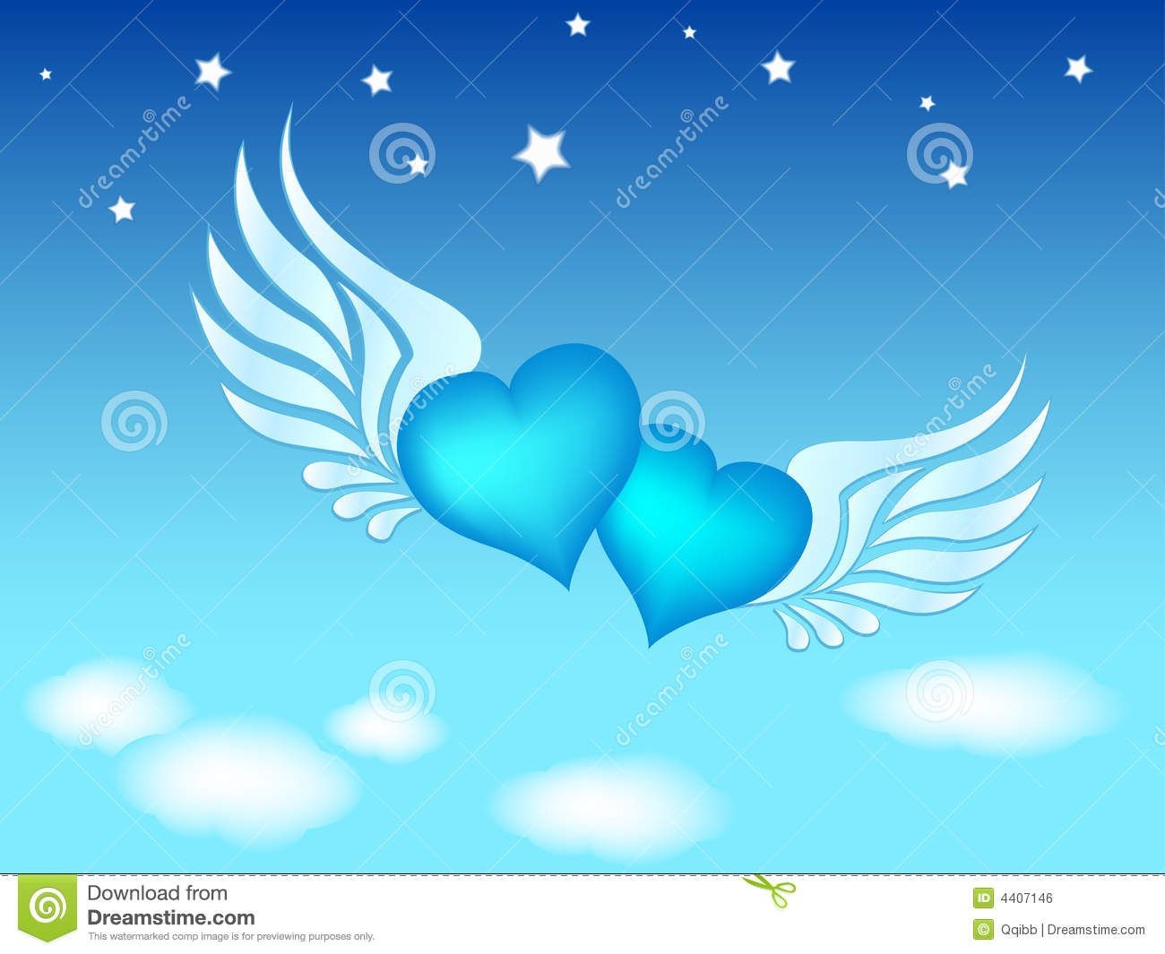 viewing gallery for blue heart clipart [ 1300 x 1065 Pixel ]