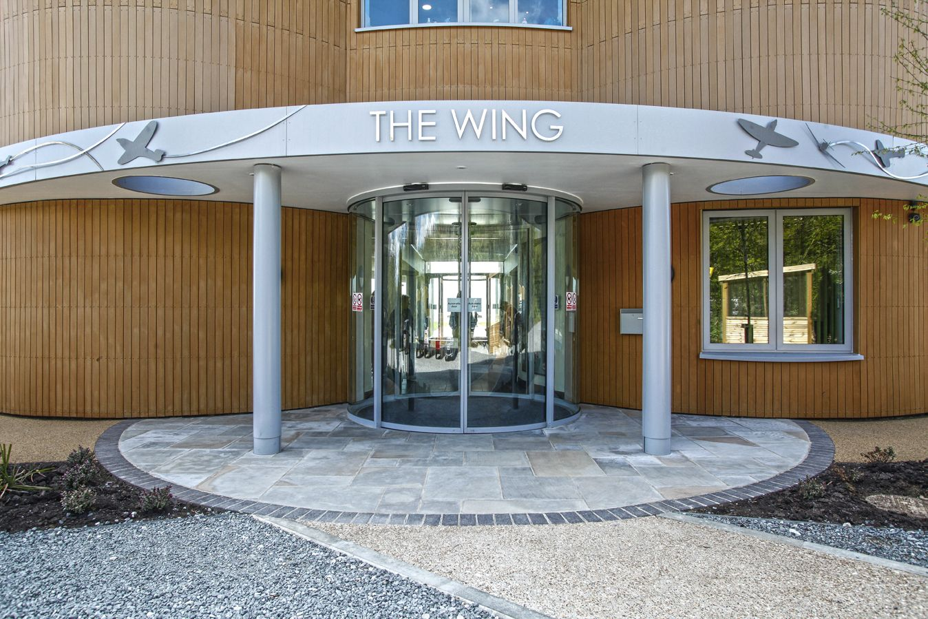 Casings designed & manufactured for the wing building at the National Memorial using skill and advanced CAD facilities  #education #wingmemorial