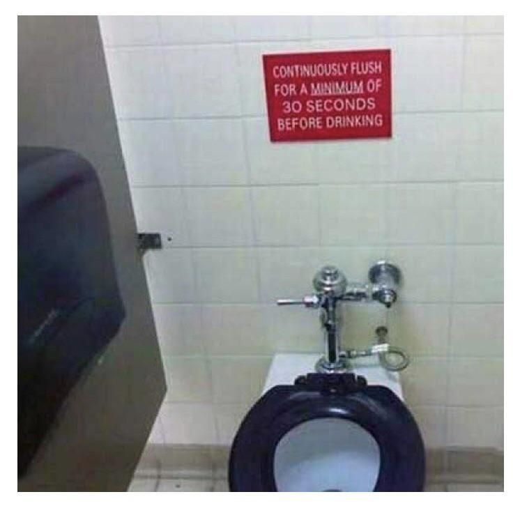 Nope you can flush it for hoursstill a nohttps