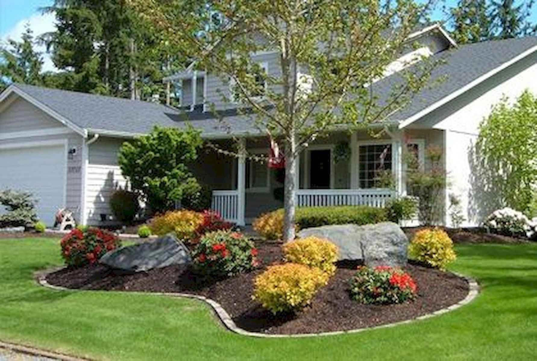 90 Simple and Beautiful Front Yard Landscaping Ideas on A ... on Luxury Front Yard Landscape id=62430