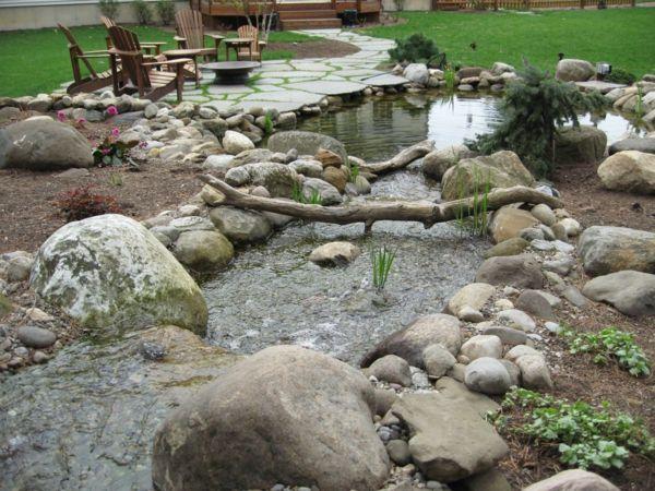 Garten Steine - eine Gartengestaltung, so nah an der Natur ...