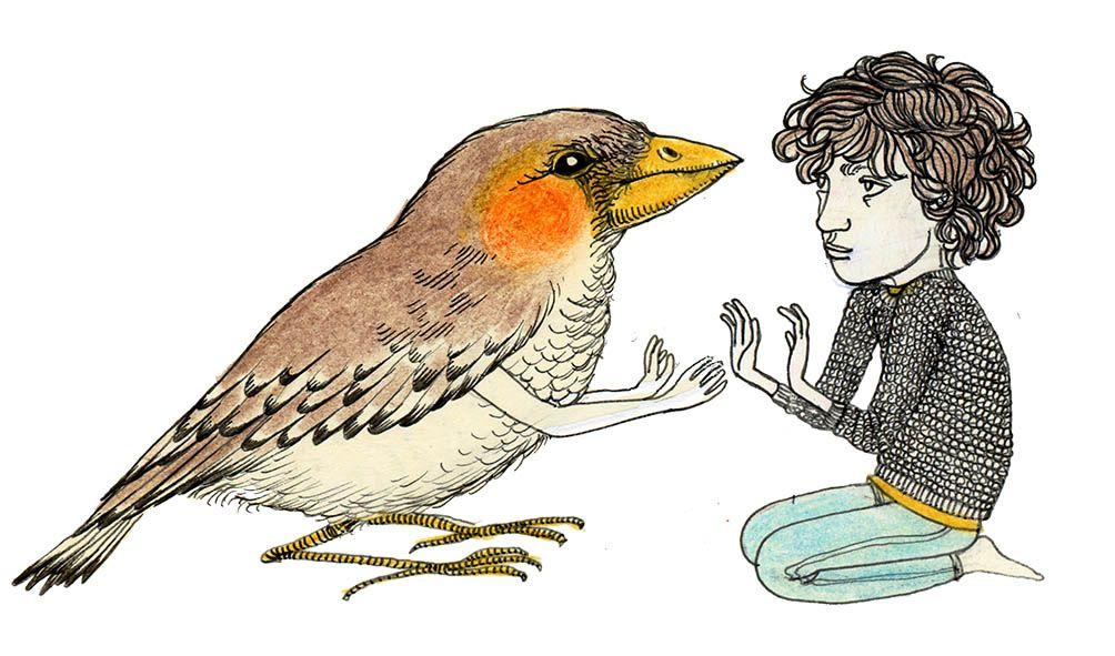 Bird & Boy | by Fox & Comet