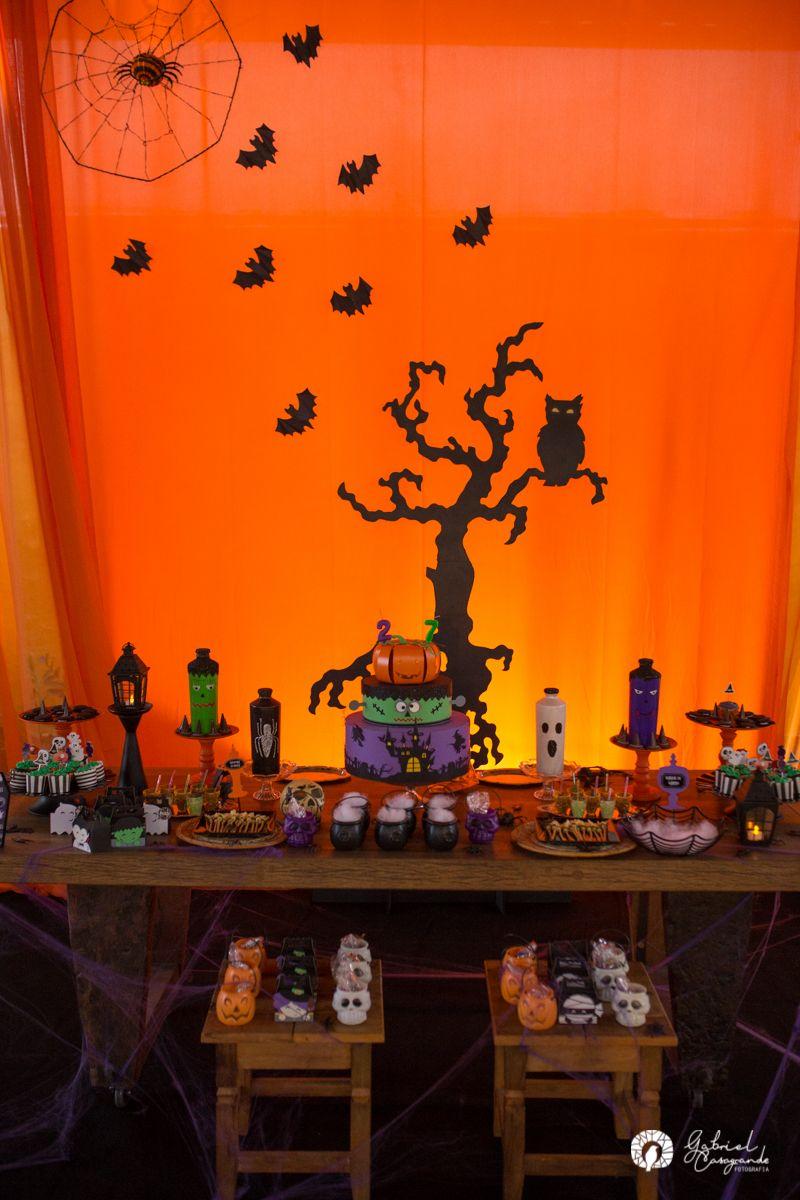 Decoracao De Festa Infantil Tema Halloween.Decoracao Tema De Festa Infantil Halloween Halloween Desserts
