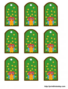 Free Owl Baby Shower Favor Tags Printable Templates To Download