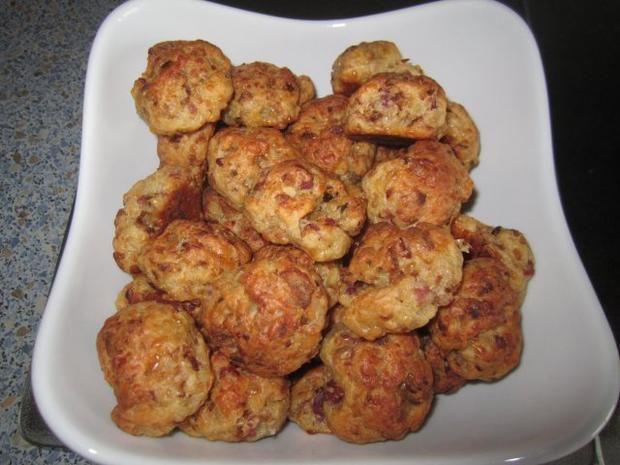 Rezept: Fingerfood  ~  Pizzabällchen ~