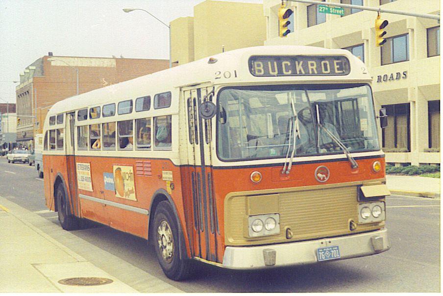 PENTRAN MACK BUS IN NEWPORT NEWS V.A.