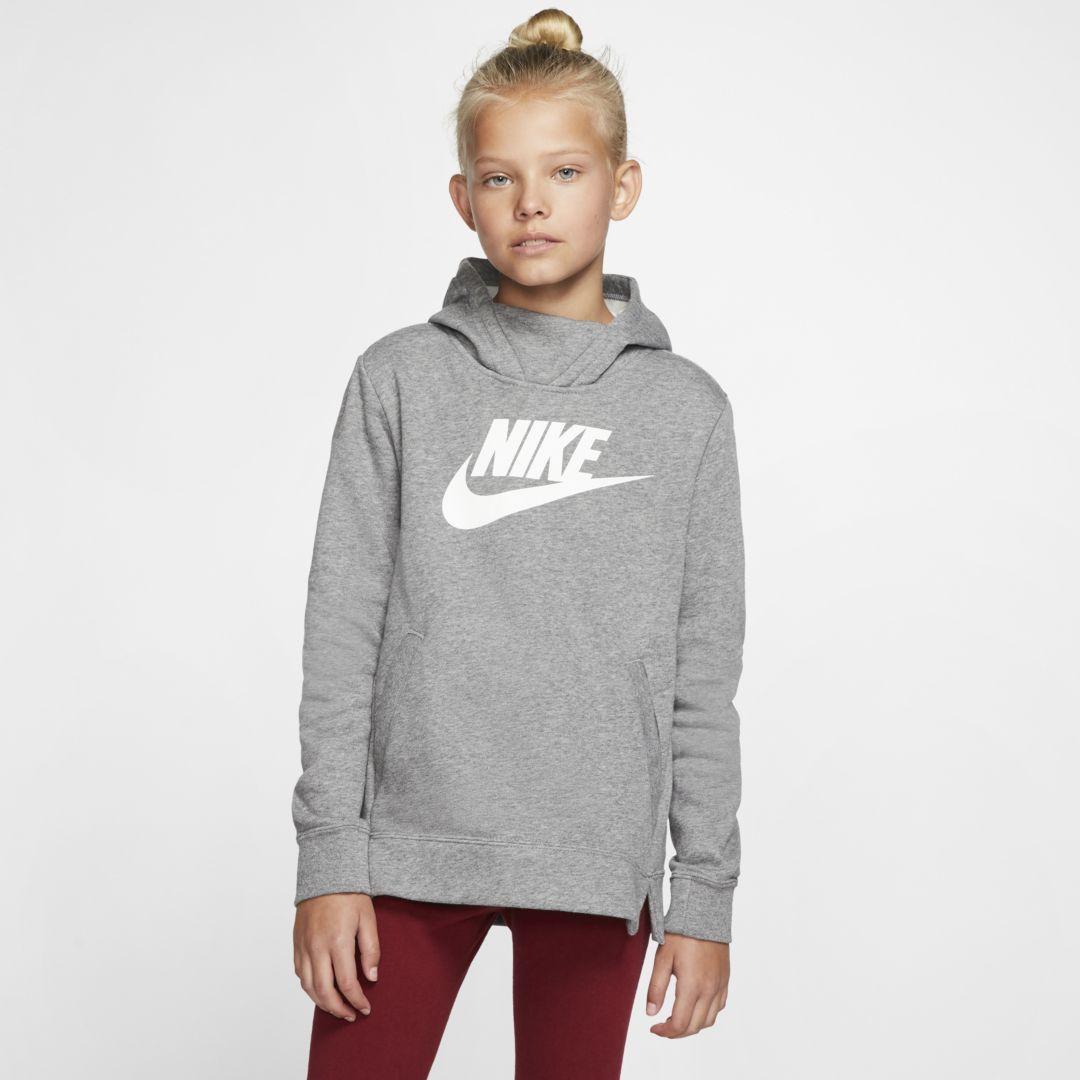 Nike Sportswear Girls Pullover Hoodie Nike Cloth Tween Outfits Nike Sportswear Hoodies [ 1080 x 1080 Pixel ]