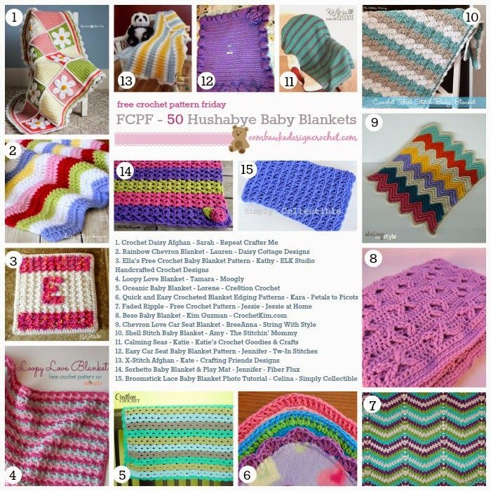 Tw-In Stitches: Baby Blanket Patterns Galore! | Baby things | Pinterest