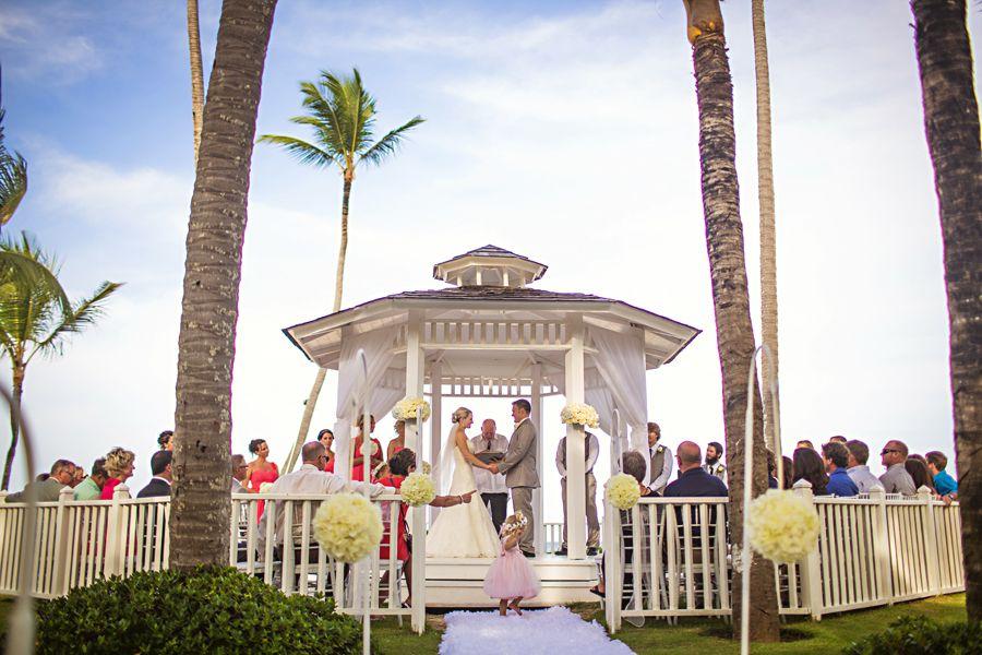 Paradisus Punta Cana Wedding Katie Ryan Katya Nova Photography Destination Wedding Caribbean Punta Cana Wedding Gazebo Wedding